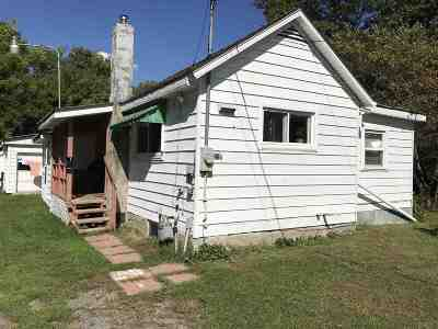 Potsdam NY Single Family Home For Sale: $41,500