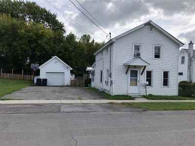 Ogdensburg NY Single Family Home For Sale: $36,000