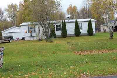 Massena Single Family Home For Sale: 24 Antoinette St