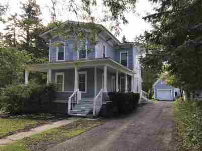 Canton NY Single Family Home For Sale: $138,500