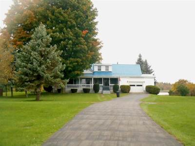 Massena Waterfront For Sale: 305 State Highway 131