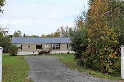 Ogdensburg Single Family Home For Sale: 215 Haggert Rd