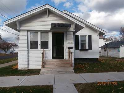 Single Family Home For Sale: 800 Montgomery St