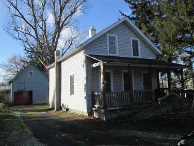 Gouverneur NY Single Family Home For Sale: $49,000