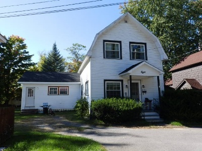 Canton NY Single Family Home For Sale: $99,500