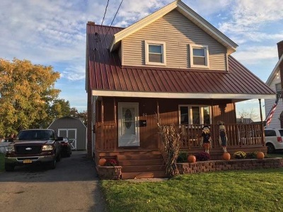 St Lawrence County Single Family Home For Sale: 93 Stoughton Ave