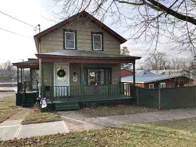 Ogdensburg NY Single Family Home For Sale: $55,000