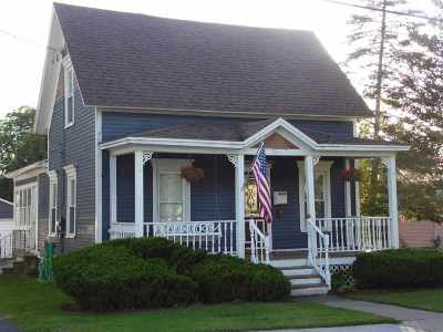 Canton NY Single Family Home For Sale: $109,000