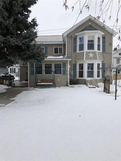 Ogdensburg NY Single Family Home For Sale: $99,500