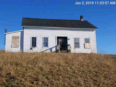 Norwood NY Single Family Home For Sale: $40,000