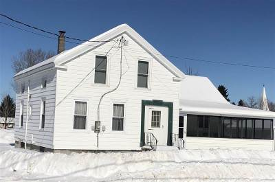North Lawrence NY Single Family Home For Sale: $69,900