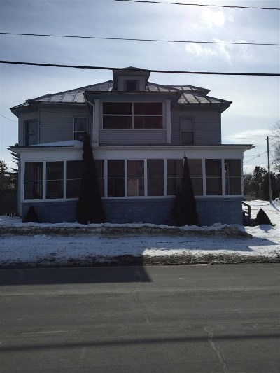Ogdensburg NY Single Family Home For Sale: $38,000