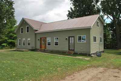 St Lawrence County Single Family Home For Sale: 104 Flack Road