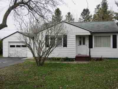 Massena Single Family Home For Sale: 50 Hidy Ave