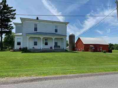 Ogdensburg NY Farm For Sale: $229,000