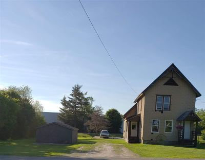 Gouverneur NY Single Family Home For Sale: $75,000