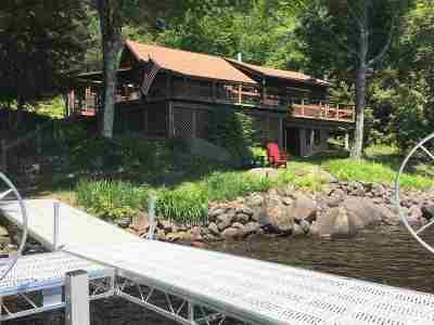 Cranberry Lake Waterfront For Sale: 697 Columbian Rd.