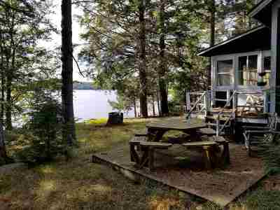 Cranberry Lake Waterfront For Sale: Bear Mountain