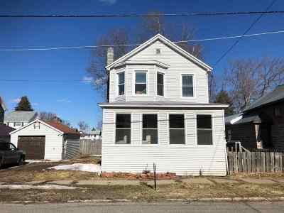 Ogdensburg NY Single Family Home For Sale: $54,000