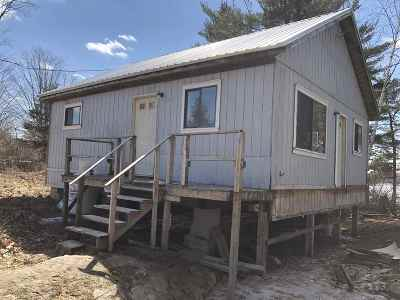 Heuvelton Waterfront For Sale: 261 Mitchell Rd