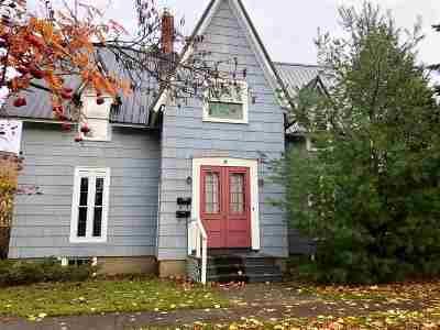 St Lawrence County Single Family Home For Sale: 4 Chestnut St