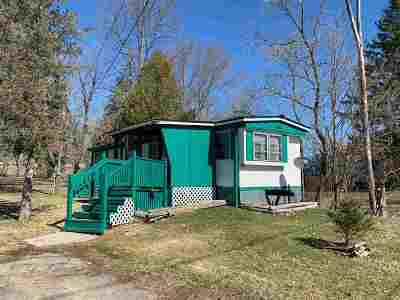 Madrid NY Single Family Home For Sale: $22,500