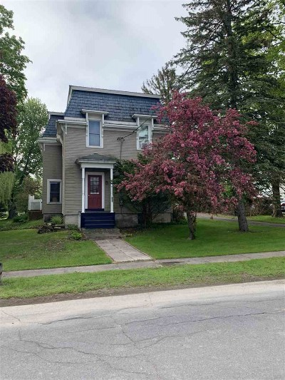 St Lawrence County Single Family Home For Sale: 168 Union St.