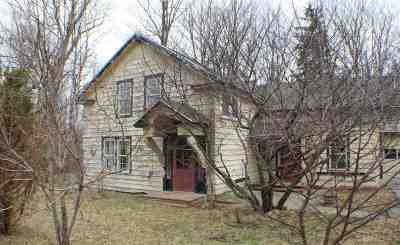 Colton NY Single Family Home For Sale: $124,900