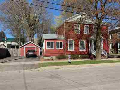 Ogdensburg NY Single Family Home For Sale: $145,000