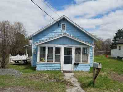 Gouverneur NY Single Family Home For Sale: $35,000