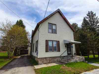 Gouverneur NY Single Family Home For Sale: $45,000