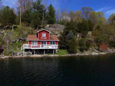 Hammond, Morristown, Heuvelton Waterfront For Sale: 516 West Shore