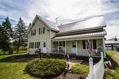 Waddington Single Family Home For Sale: 286 Irish Settlement Road