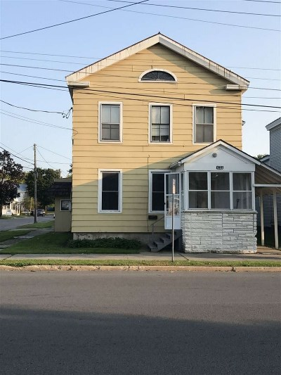 Ogdensburg NY Multi Family Home For Sale: $69,000
