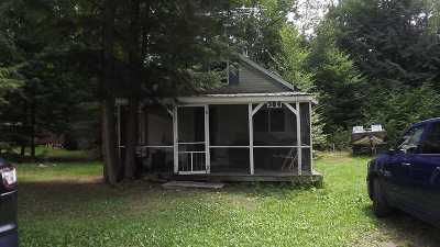 Cranberry Lake NY Single Family Home For Sale: $70,000