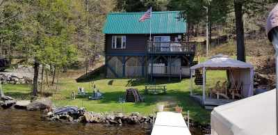 Cranberry Lake Waterfront For Sale: 72 Lone Pine Rd.
