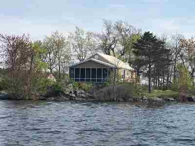 Morristown, Brier Hill Waterfront For Sale: Rush Bed Island