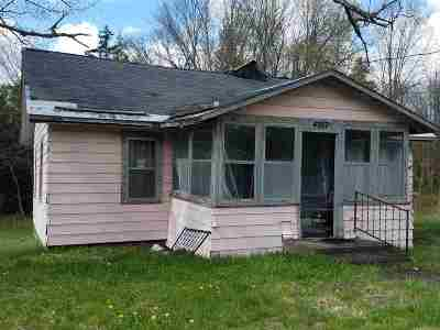 Star Lake NY Single Family Home For Sale: $19,999