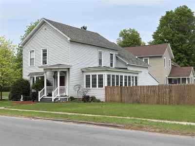 Gouverneur NY Single Family Home For Sale: $128,500