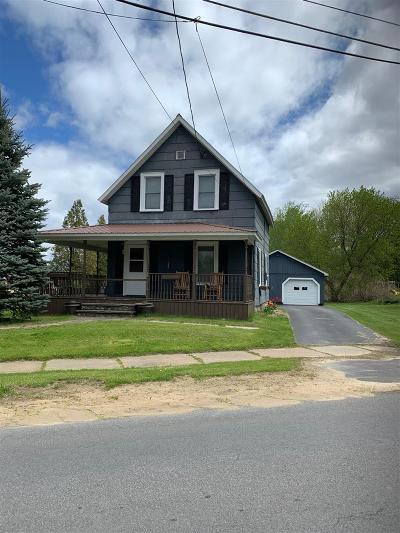 Waddington Single Family Home For Sale: 1 Franklin Street