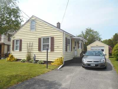 St Lawrence County Single Family Home For Sale: 7 Washington Street