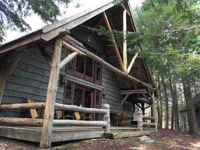 Cranberry Lake Waterfront For Sale: 0 Starkey's Point, Chair Rock