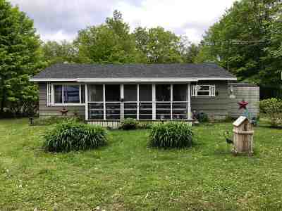 Star Lake NY Single Family Home For Sale: $47,900