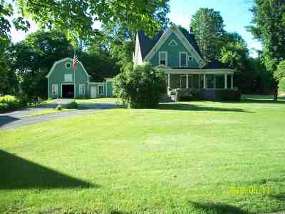 Norwood NY Single Family Home For Sale: $165,000