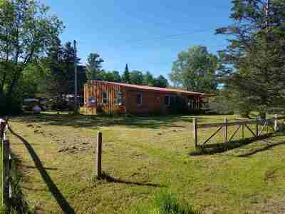 Star Lake NY Single Family Home For Sale: $39,500