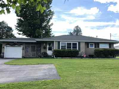 St Lawrence County Single Family Home For Sale: 71 S Main Street
