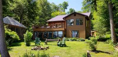 Cranberry Lake Waterfront For Sale: 113 Columbian Rd.