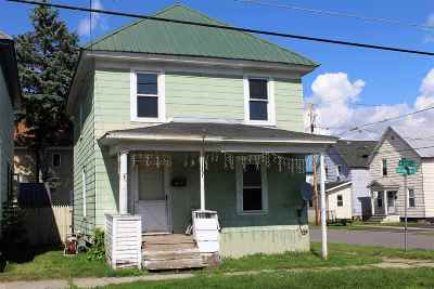 St Lawrence County Single Family Home For Sale: 828 Franklin Street
