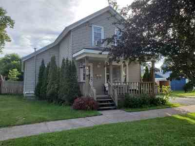 St Lawrence County Single Family Home For Sale: 811 Mansion Ave
