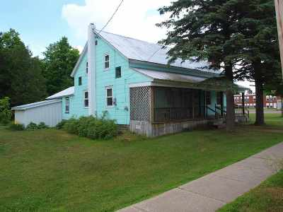 St Lawrence County Single Family Home For Sale: 34 Cr 47